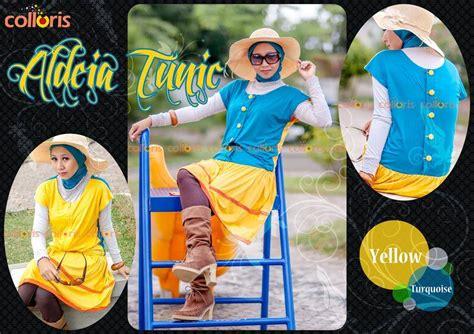 Baju Muslim Tunik Blouse Rannalia Rna 10 Toska busana muslim koleksi terbaru