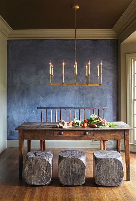 dining room chalkboard rustic dining room a chalkboard accent wall sets