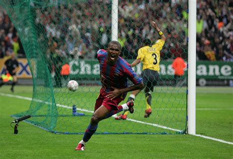 arsenal barcelona 2006 8 incredible goals by african players during the chions