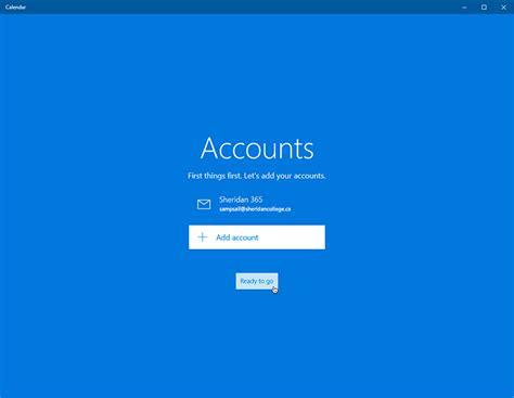 Office 365 Mail App Windows 10 Student Alumni Email Calendar Configuring Office 365