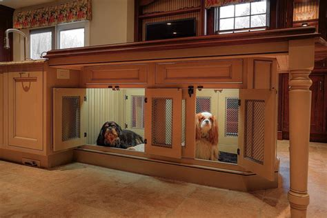 dog cabinet how to create a pet friendly kitchen custom cabinet and