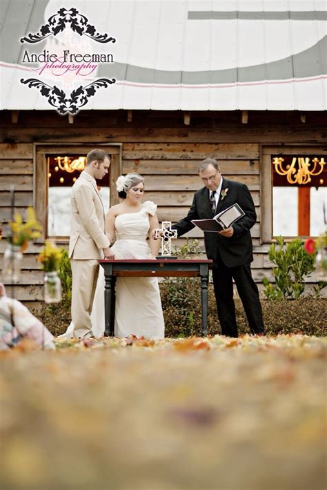 outdoor wedding unity ideas outdoor ceremony with unity cross country fall barn