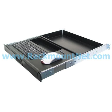 Rack Mount Keyboard Drawer by Lrk107 1u Rackmount 88 Key Keyboard Drawer With Mouse Holder