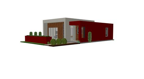 modern house with plan contemporary casita house plan small house plan small modern guest house plan the