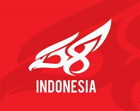 logo hut ri   unofficial belajar desain