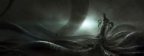 lovecraft wallpaper nyarlathotep the faceless god cthulhu lives pinterest