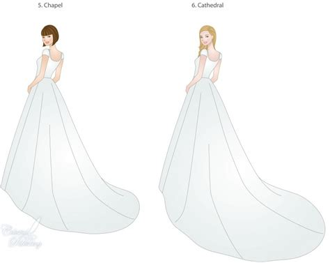 Wedding Trains, Guide to Style, Type, and Length   LDS