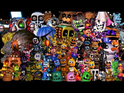 Fnaf World Everything Tutorial How To Get All The