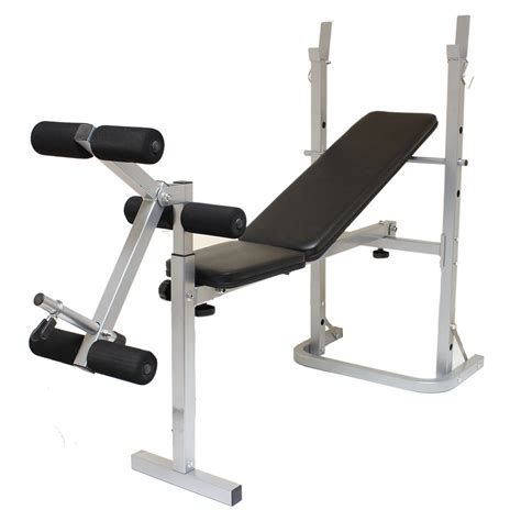 leg exercises on weight bench folding weight bench home gym exercise lift lifting chest press leg fitness ebay