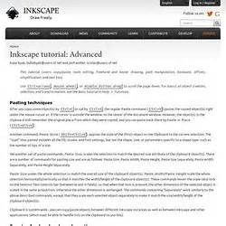 inkscape tutorial advanced inkscape tutorial pearltrees
