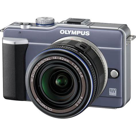 olympus pen digital olympus pen e pl1 digital blue 262861 b h photo