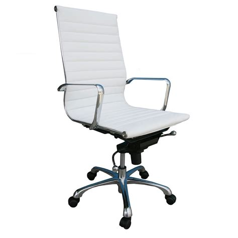 Office Chairs High Back by Comodo High Back White Office Chair City Schemes