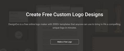 free logo design no cost designevo free logo maker tool no mail signup required