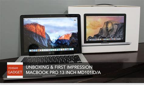 Macbook Pro Di Thailand unboxing impression macbook pro 13 inch md101id a doovi