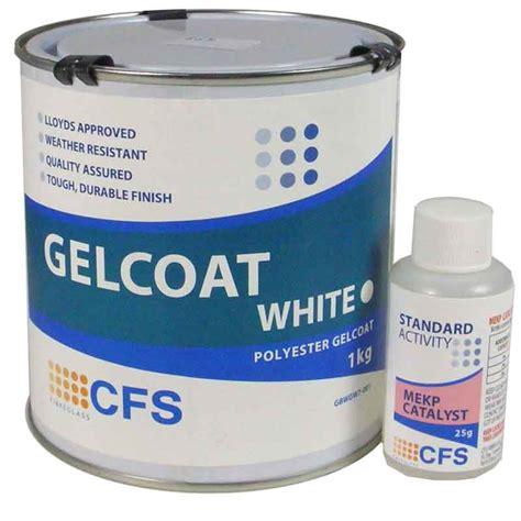 gel coating a fiberglass boat 1kg pack white gelcoat