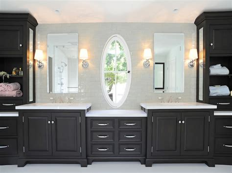 Bathroom Vanities With Side Cabinets Best Home Design 2018