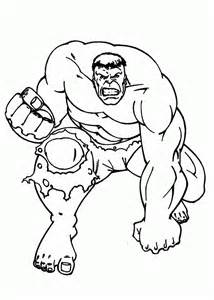incredible hulk coloring page az coloring pages