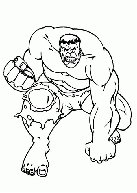 incredible hulk coloring page coloring home