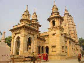 Buddhist Temple File A Buddhist Temple At Sarnath Jpg