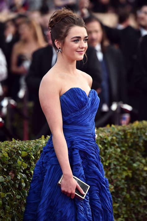 Screen Actors Guild Awards Williams by Maisie Williams At 22nd Annual Screen Actors Guild Awards
