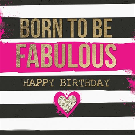 blackpink birthday birthday card black and neon pink born to be fabulous