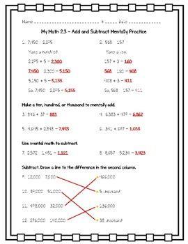 math  grade chapter  add  subtract