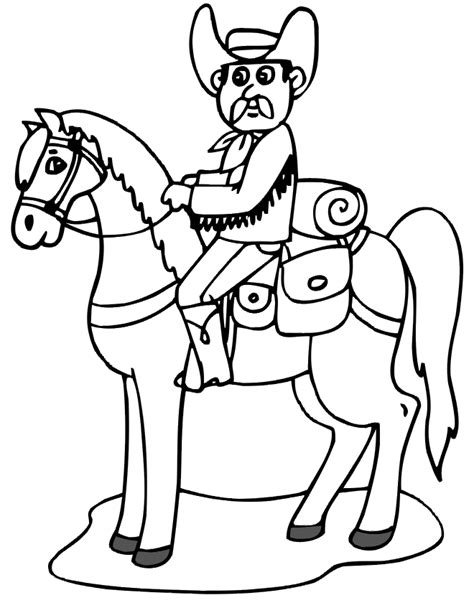 cowboy horse coloring page coloring pictures of indians and horses coloring pages