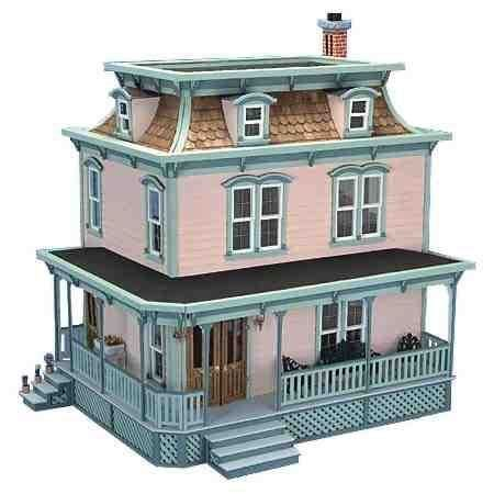 french dolls house french louisiana doll house dollhouses and miniatures pinterest