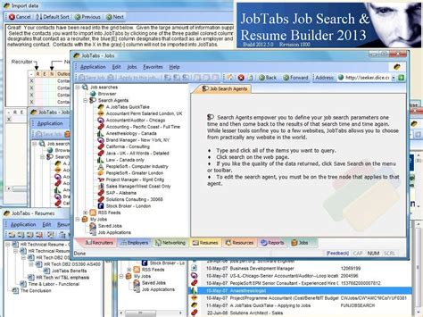 jobtabs search and resume builder 2013 for windows 10