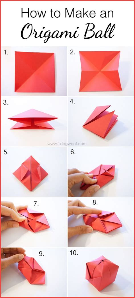 How To Make With Paper Folding - 25 best ideas about origami balloon on