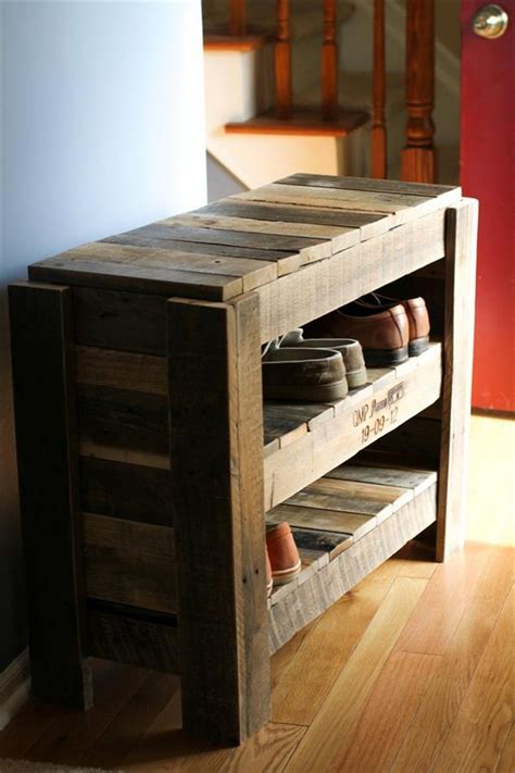 wooden pallet shoe rack ideas pallet wood projects wooden pallet shoe rack ideas pallet wood projects