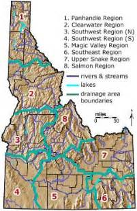 geographic id map geography of idaho county idaho