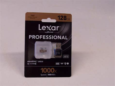 Micro Sd Lexar lexar professional 128gb micro sd minniskort fotoval