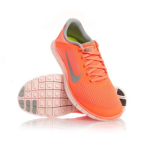 womens nike free 4 0 running shoes nike free 4 0 v3 womens running shoes atomic orange