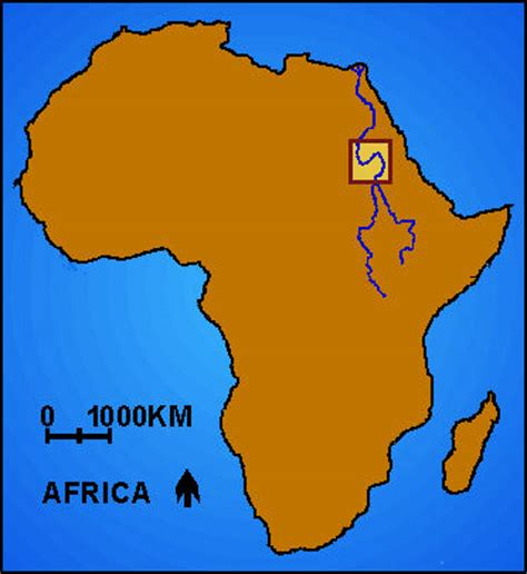 africa map kush in nubia reconstructed by learning