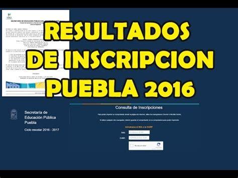 resultados de subsidio habitacional 2016 resultados inscripci 243 n puebla 2016 youtube
