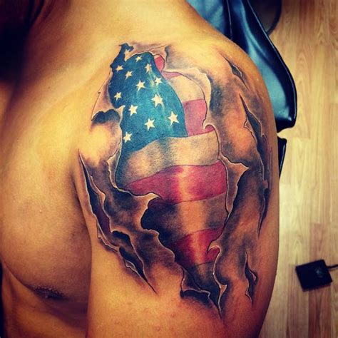 tattoo of us best american flag tattoo tattoos i ve done pinterest