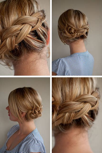 easy braided ponytail hairstyle how to hair romance 30 days of twist pin hairstyles day 23 hair romance
