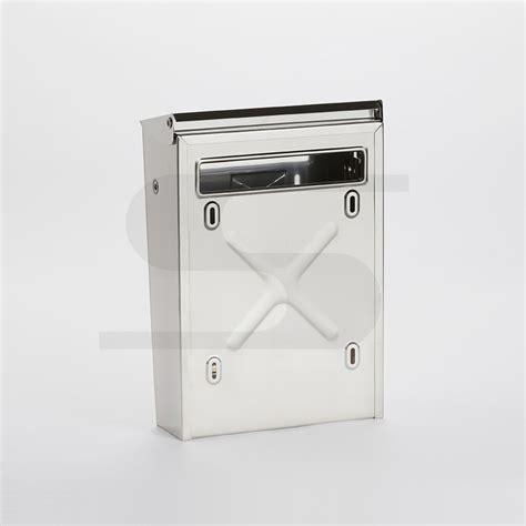 cassette per cassetta postale singola per recinzioni con tetto