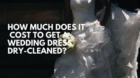 How Much Does It Cost To A Cleaned by Wedding Gown Preservation Kits