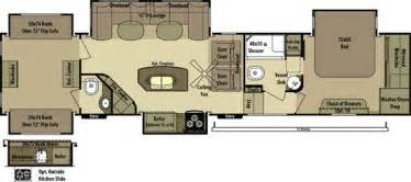 2 bedroom fifth wheel floorplans search cer - 2 Bedroom Rv For Sale