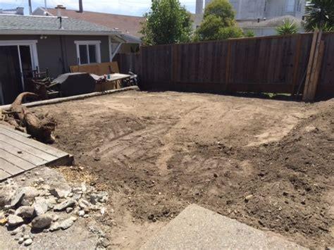 grading backyard grading a backyard 28 images yard drainage grading