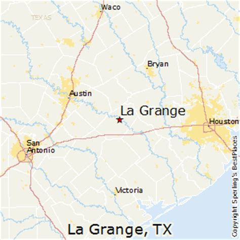 la grange texas map best places to live in la grange texas