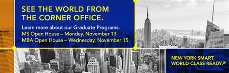 Baruch College Scholarship Mba by Baruch College The City Of New York Cuny
