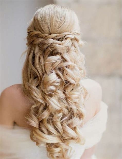 wedding hairstyles cascading curls 10 irresistible bridal hairstyles for long locks the