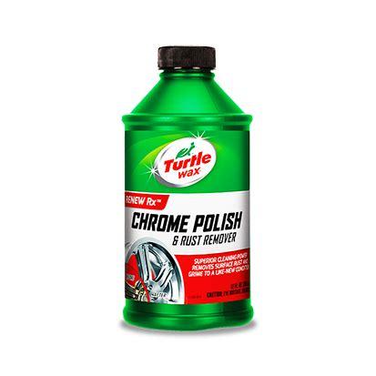 chrome cleaner original turtle wax 174 chrome polish rust remover