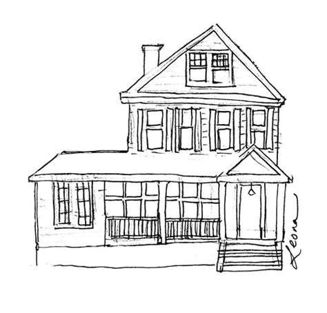 How To Draw House Plans On Computer by House Illustrations And Illustrator Notes Sketching Out