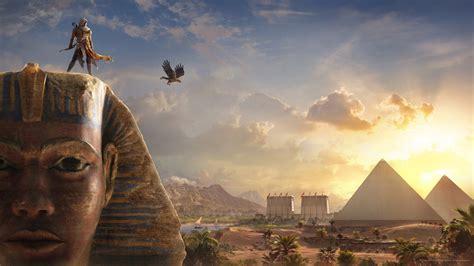 bayek sphinx assassins creed origins wallpapers hd