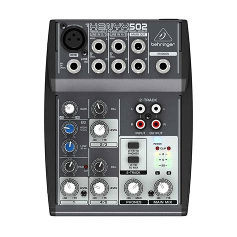 Daftar Mixer Behringer jual behringer xenyx 502 mixer audio harga
