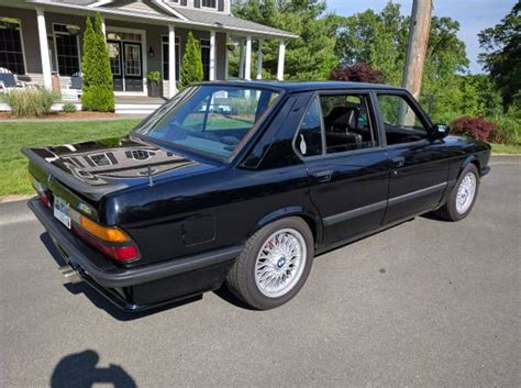 1988 Bmw M5 For Sale by All Black Everything 1988 Bmw M5 German Cars For Sale